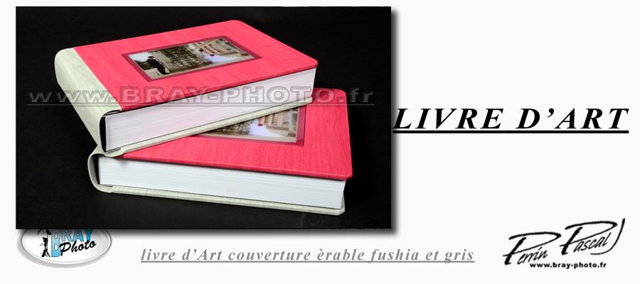 livre d'art couverture érable