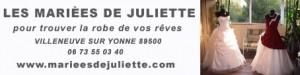 lien vers les mariées de juliette création robe de mariée