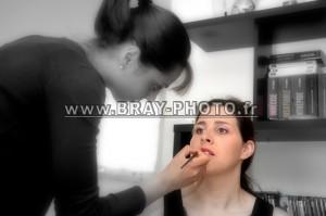 """Les préparatifs le """"Maquillage"""" BRAY-PHOTO Photographe Pascal PERRIN"""
